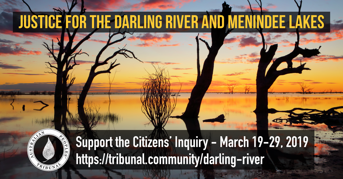 2019 Citizens' Inquiry into the Health of the Darling River and Menindee Lakes