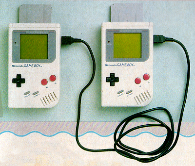 The Game Link cable enabled multiplayer gaming.