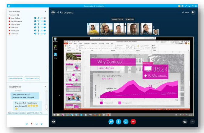 Office 2016_skype for biz