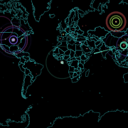 This Real-Time Map of Cyberattacks is Mesmerizing
