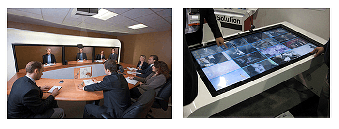 digital signage and smart teleconference