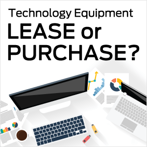 Buy or lease tech equipment