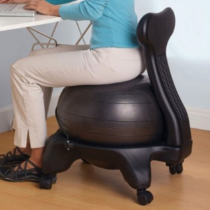 ergonomic chair exercise ball oversized slipcovers burn through calories while you your work! | new empire group, ltd.