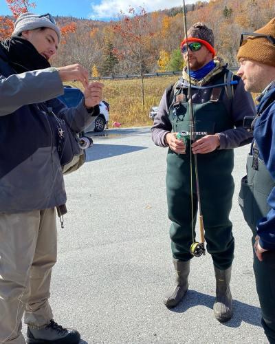 New England Adventures Veterans Fly Fishing Trip