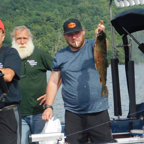 Quabbin Reservoir Fishing Trip