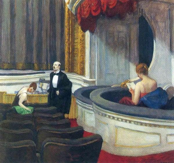 Edward Hopper Two On the Aisle