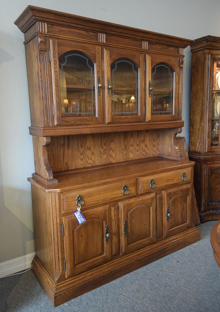 Temple Stuart Buffet Hutch  New England Home Furniture