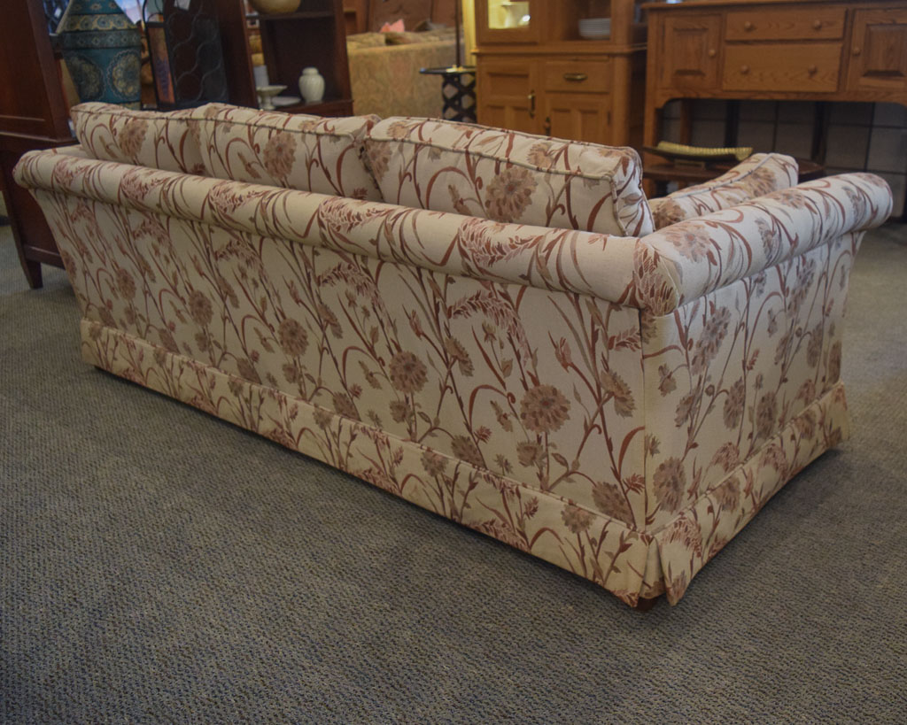 patterned sofas uk sofa bed with under storage ethan allen floral new england home furniture