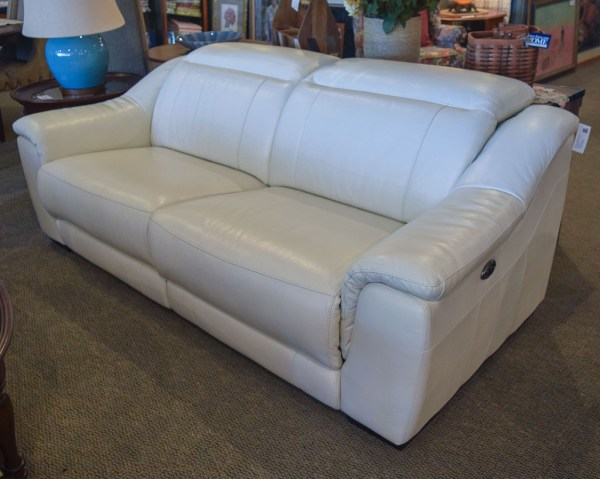 Giovanni Leather Sofa England Home Furniture Consignment