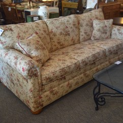 Patterned Sofas Uk Condo Size Sofa With Chaise Ethan Allen Floral New England Home Furniture