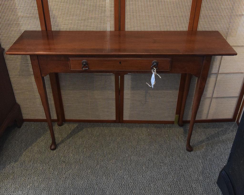 cherry sofa table with storage craigslist sectional miami lexington new england home furniture