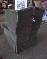 Ethan Allen Wingback Chair | New England Home Furniture ...