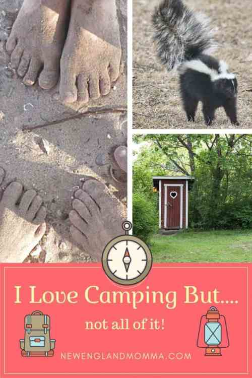 I love camping but