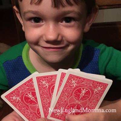 Pick up a deck of cards and play any of these 6 games with your kids. Sure to be a hit!