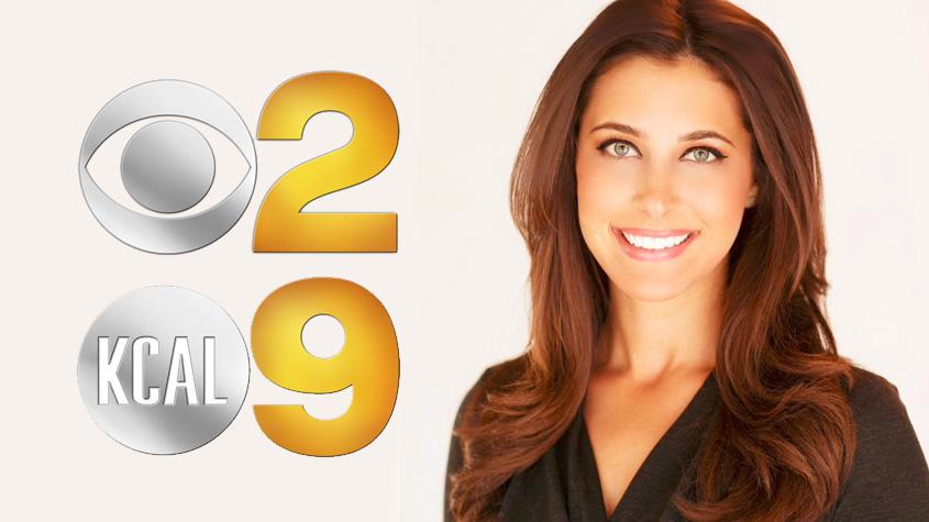 Danielle Gersh Joins KCBSKCAL as Weather Anchor  Across America