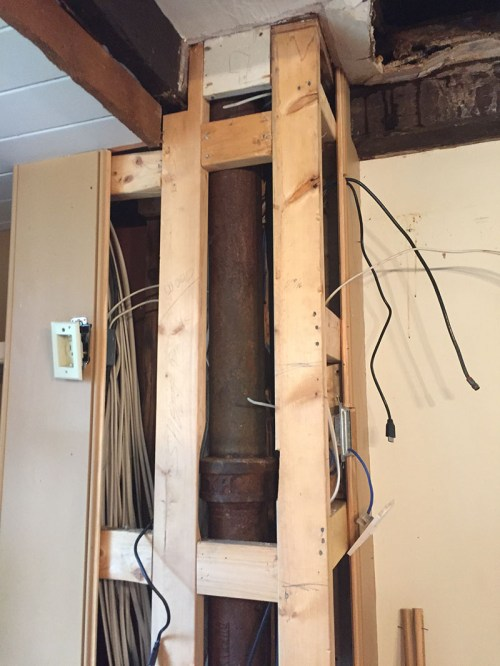 small resolution of fixing our infamous kitchen leak