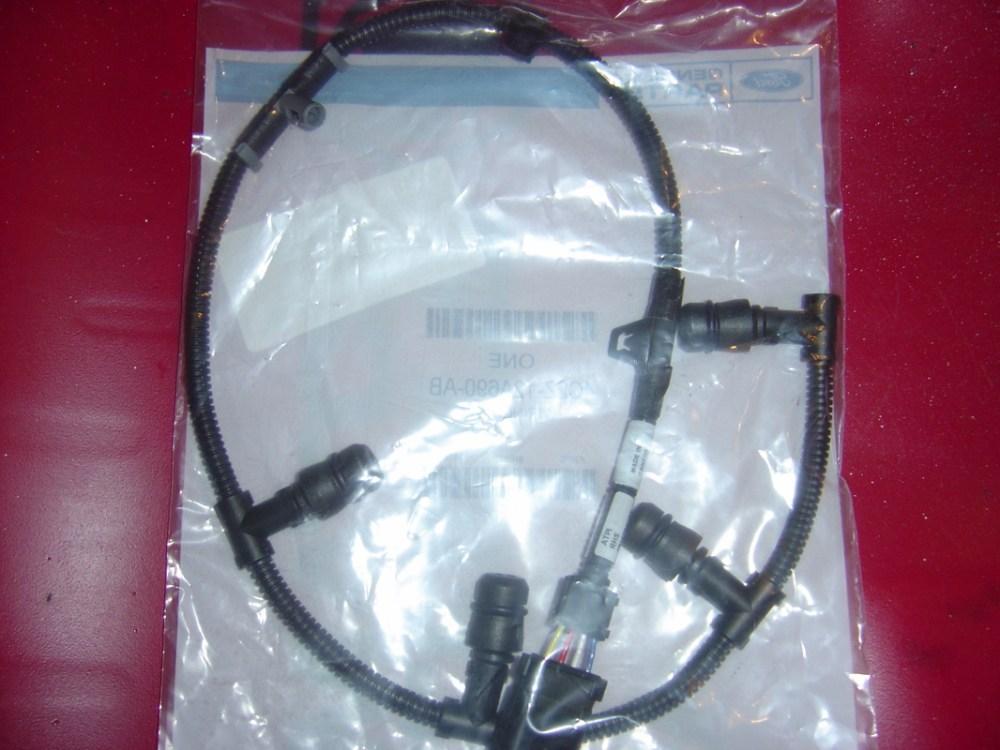 medium resolution of  oem ford 6 0l glow plug harness