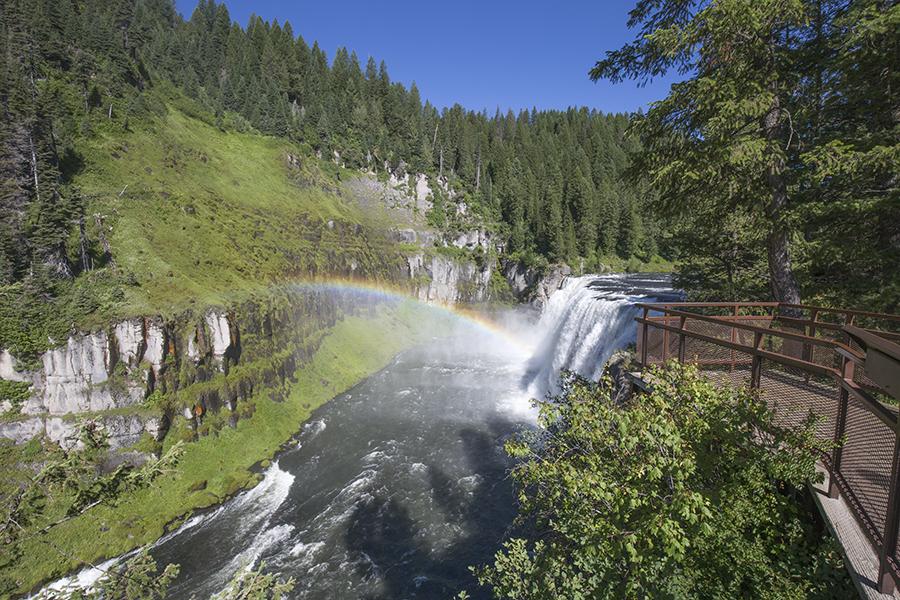 Photos of Upper Mesa Falls Idaho