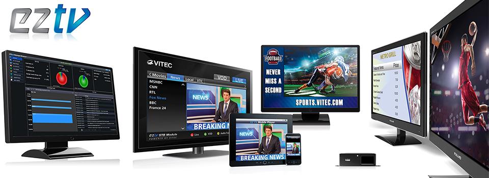 EZ TV IPTV & Digital Signage Platform broadcast quality IPTV