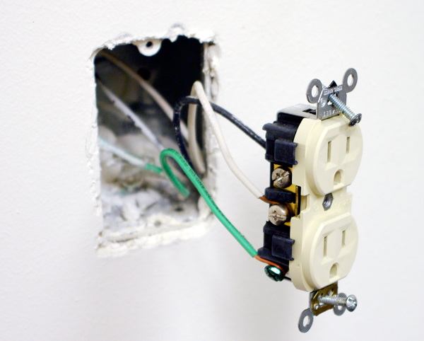 Wiring For Wall Outlet