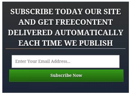 Email subscribe newfeatureblog