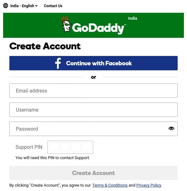 email-password-pin-daalkar-create-account-par-click-kare