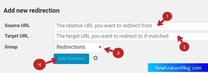 redirect 404 error url on new url with redirection