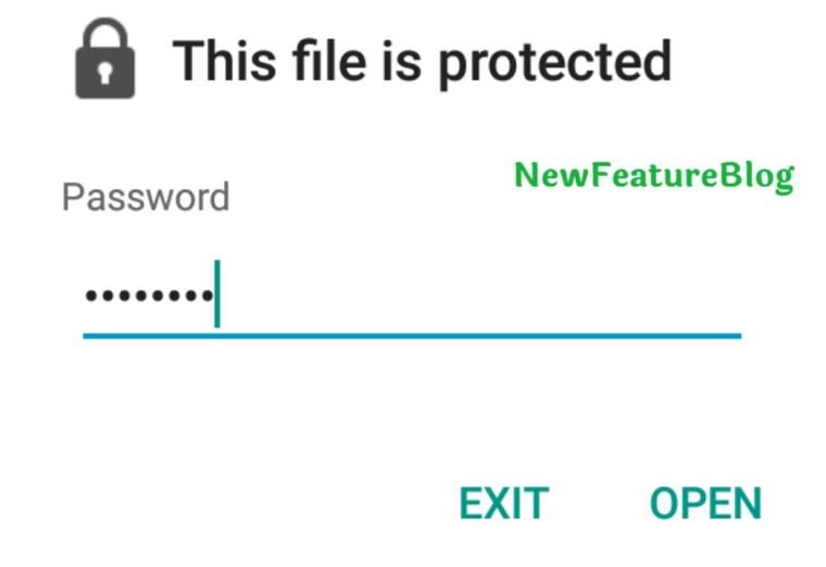enter password to open e adhaar file