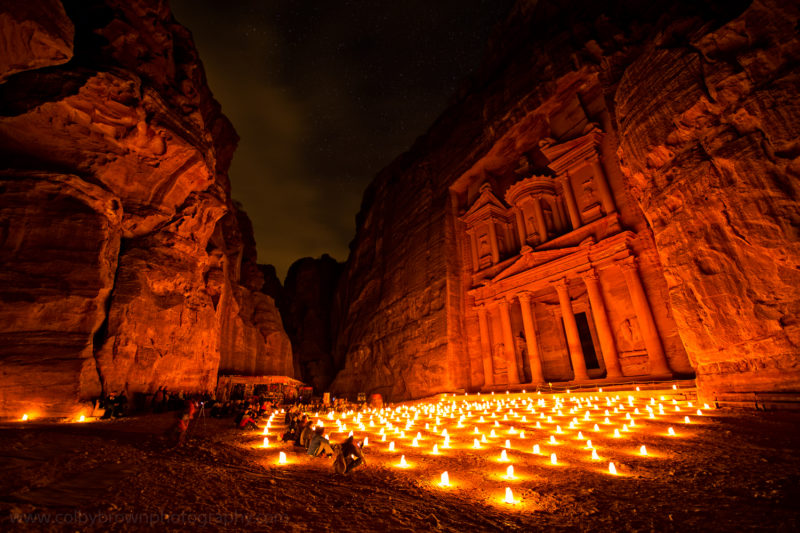 brown-Petra-by-Night