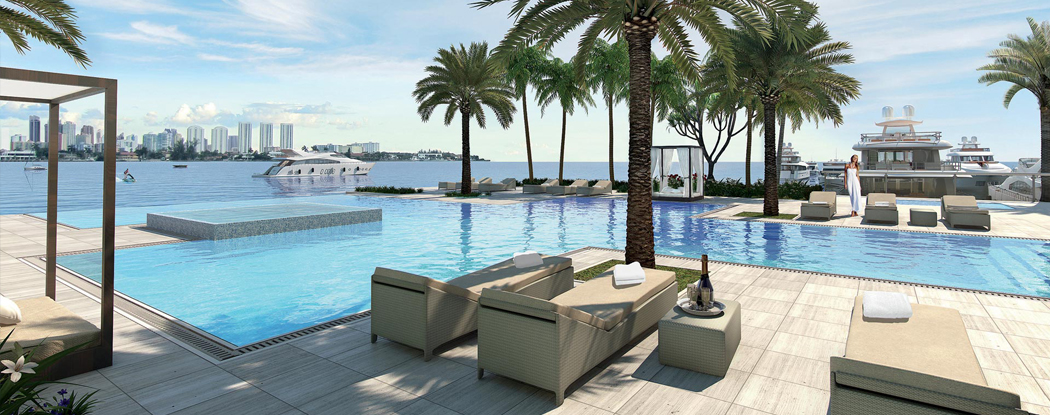 Marina Palms Yacht Club Amp Residences New Miami Florida