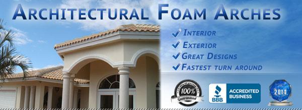 Architectural Foam Arches Florida