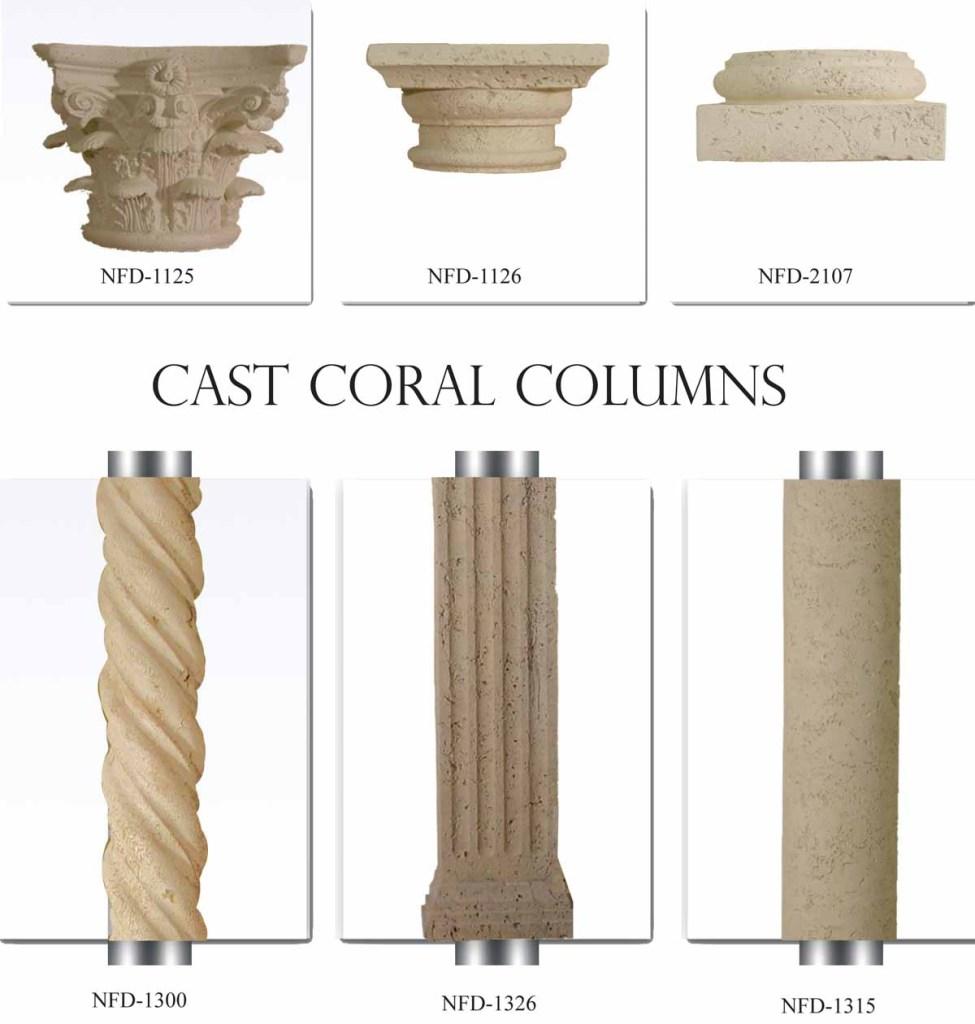 Cast Coral Foam