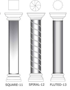Foam columns catalog page also made to order top rated company rh newfoamdesign