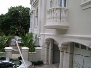 Architectural Foam Moldings Installation