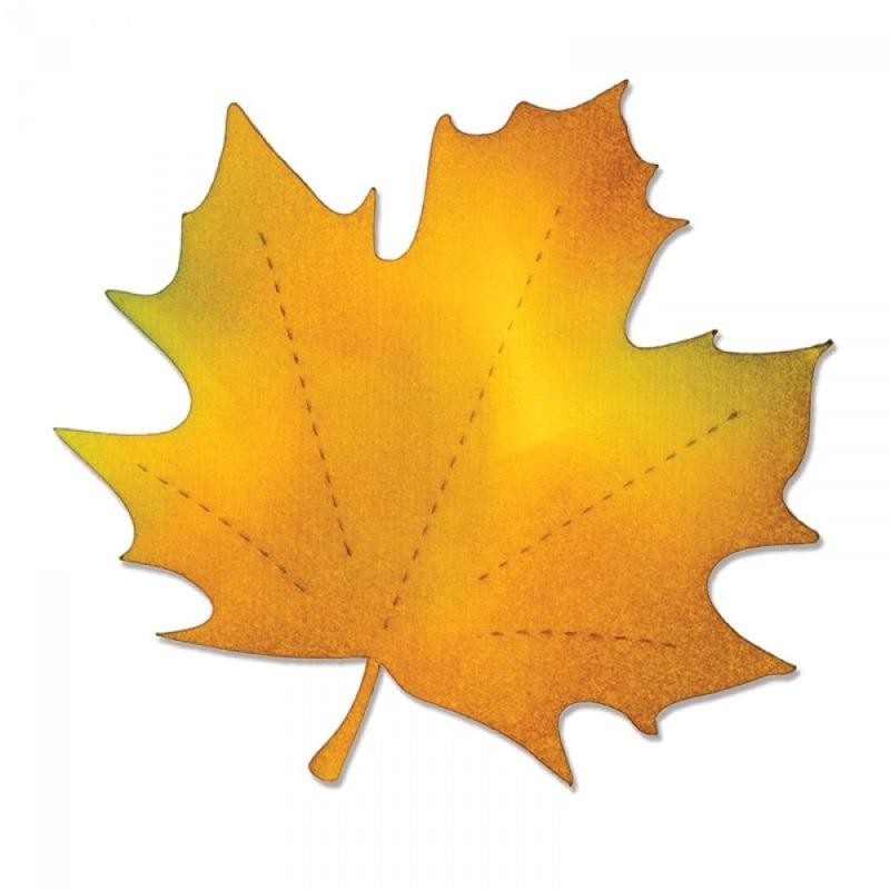 Sizzix Bigz Die  Maple Leaf  New Forest Fabrics