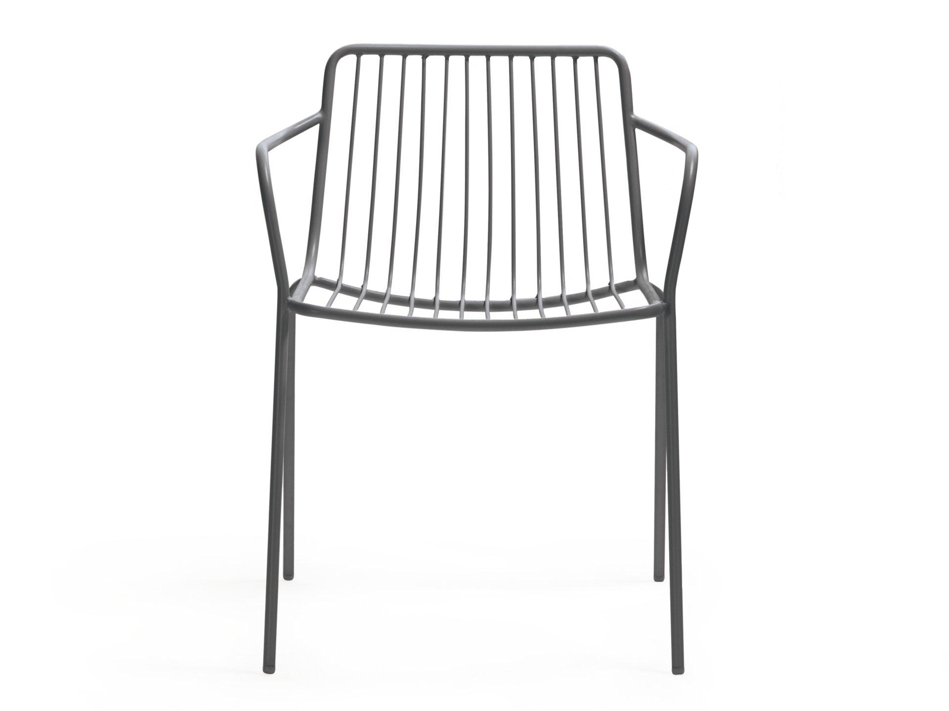 Pedrali Chair Nolita Grey Dark