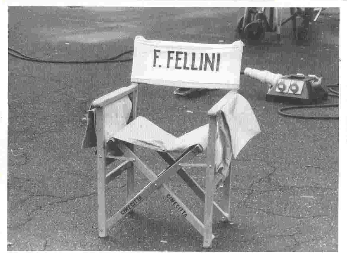 Sedia peighevole Regista modello fellini sedia pieghevole