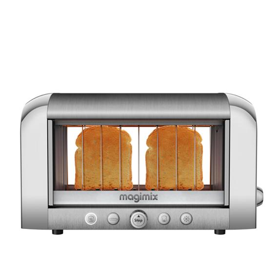 Magimix Vision Toaster Chrome 11538 Newformsdesign