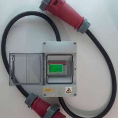 3 Phase 5 Pin Plug Wiring Diagram Uk 2002 Nissan Sentra Exhaust Electrical Three Colours Newfound Energy Ltd In Line Electricity Meter