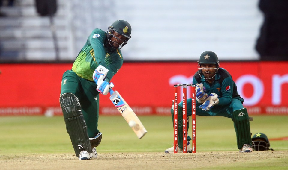 22 January 2019: Andile Phehlukwayo during the Momentum ODI between South Africa and Pakistan at Kingsmead Cricket Ground in Durban. Phehlukwayo is a leading candidate for the Proteas at No. 7. (Photograph by Steve Haag/Getty Images)