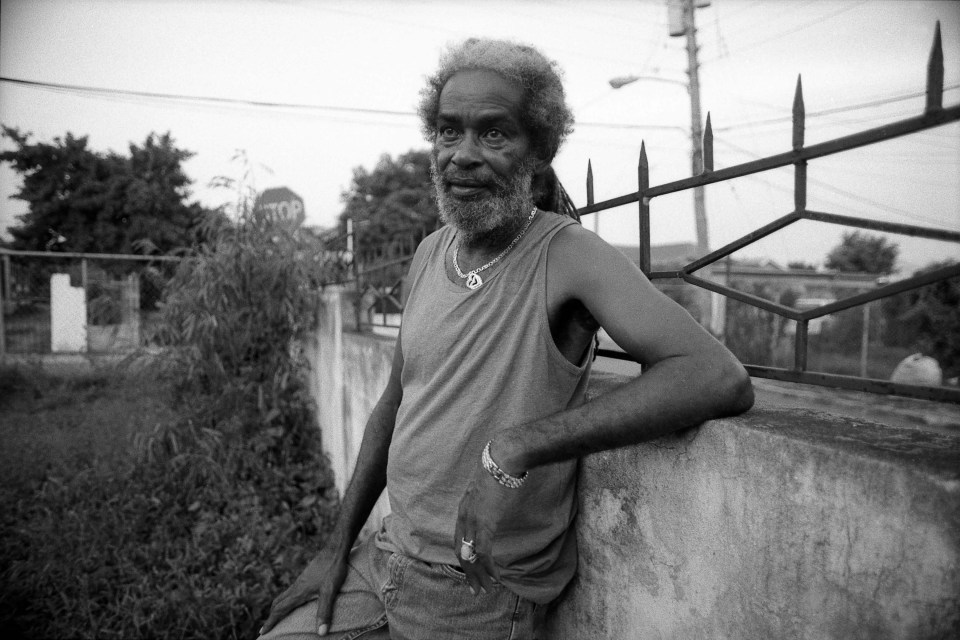 21 June 2005: The People's National Party used one of Max Romeo's songs in an election campaign, although 'it wasn't intended to be a slogan song'. Romeo is photographed here in Kingston, Jamaica. (Photograph by David Corio/Redferns)