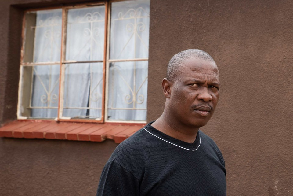 """31 October 2018: Godfrey Mngomezulu, unemployed since 2014, says, """"I don't wish to see someone else struggling like I was struggling. I'm willing to help others because I know how hard it is when you are struggling""""."""