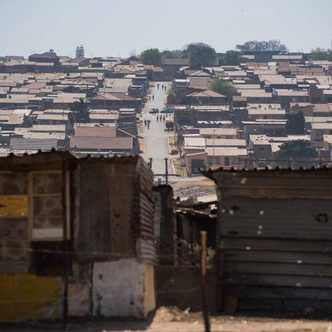 5 September 2018: The City of Ekhuruleni's plan to upgrade to shack settlements via reblocking has left residents of Vusimuzi unhappy, as some people's homes were simply cut in half to make space for roads.