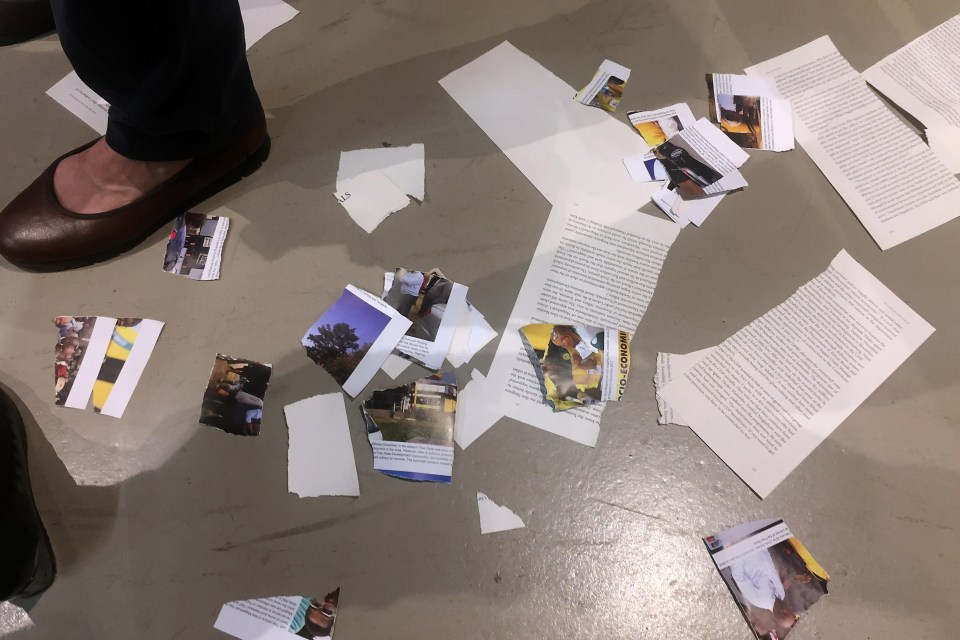 9 April 2019: A group of ANC supporters disrupted the launch of Pieter-Louis Myburgh's book, 'Gangster State', at Exclusive Books in Sandton, Johannesburg. (Photograph by Felix Dlangamandla/Netwerk24)