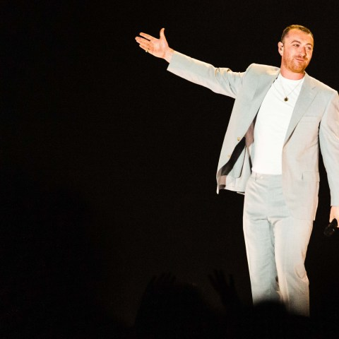 13 April 2019: Sam Smith in concert at the Ticketpro Dome in Johannesburg. (Photograph courtesy of Big Concerts)