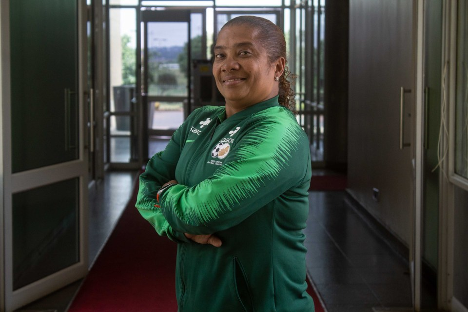 7 November 2018: A portrait of former Banyana Banyana captain turned coach Desiree Ellis at Safa House in Johannesburg. She believes that her team can come back victorious from the Africa Women's Cup of Nations in Ghana