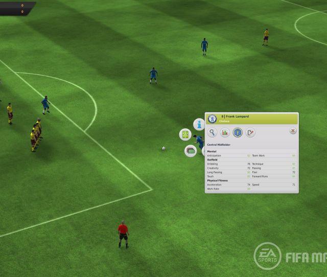 Click To Enlarge Fifa Manager 12 Screenshot