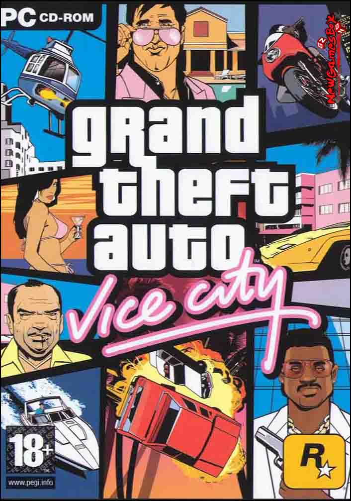 Grand Theft Auto Vice City Free Download