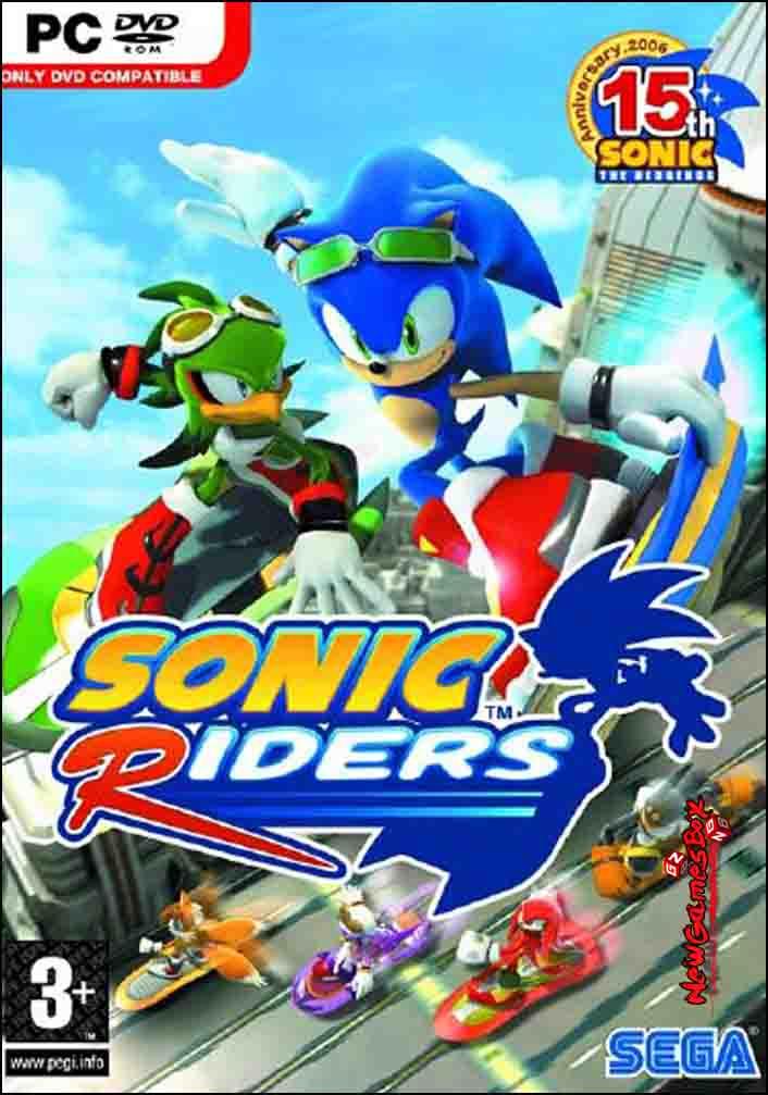 Sonic Riders Free Download Full Version PC Game Setup