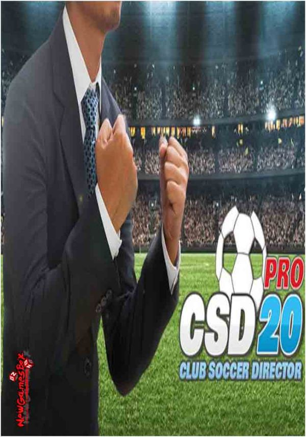Club Soccer Director PRO 2020 Free Download PC Game